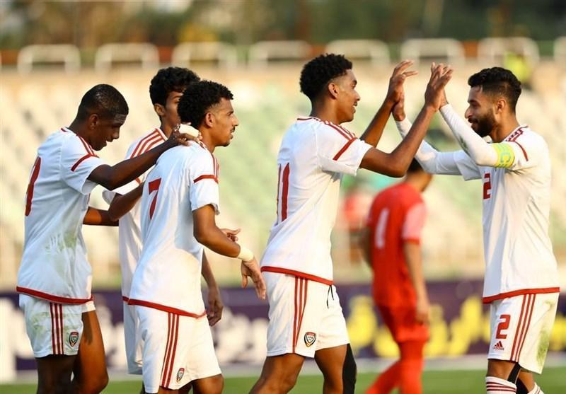 فوتبال جوانان مقدماتى آسیا، پیروزى قاطع امارات برابر نپال