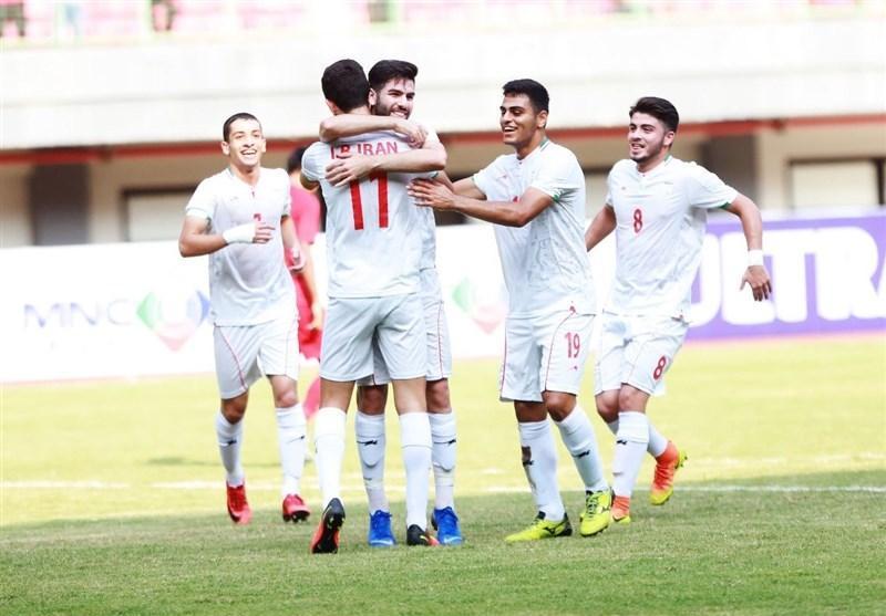 مقدماتی فوتبال جوانان آسیا، ایران گام نخست را محکم برداشت