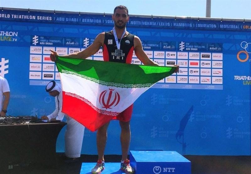 نوبری: خوشحالم اولین ورزشکار سه گانه ایران در بازی های آسیایی هستم
