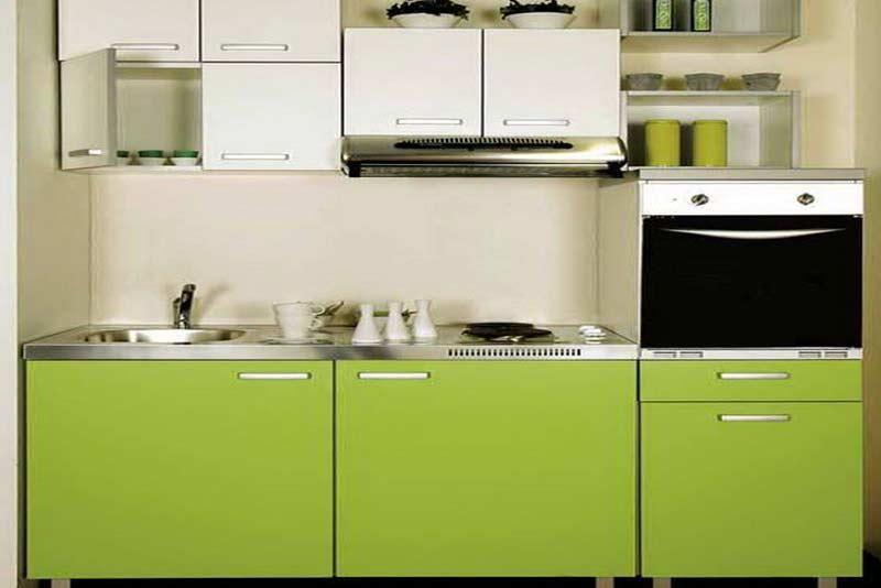 کابینت آشپزخانه کوچک برای استفاده حداکثری از فضا
