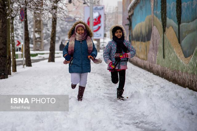 تعطیلی شیفت عصر مدارس بعضی مناطق تهران