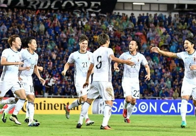 ژاپن به اولین پیروزی خود دست یافت