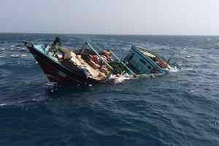 دو خدمه ایرانی و هندی کشتی ایرانی ناپدید شده اند