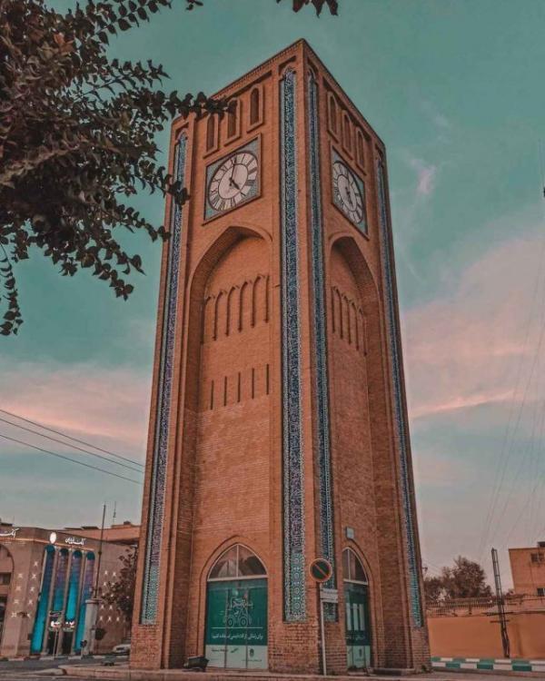 وقت الساعت یزد ؛ اولین ساعت شهری ایران