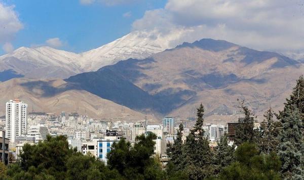 پیش بینی شرایط آب و هوای تهران فردا چهارشنبه 26 خرداد 1400