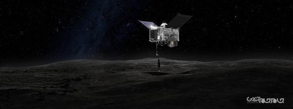 فضاپیمای ناسا نمونه های جمع آوری شده از سیارک بنو را به خارج از فضاپیما می ریزد