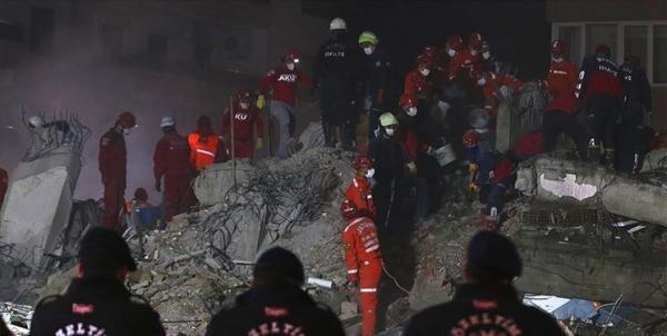 تعداد جان باختگان زلزله ترکیه به 100 نفر رسید