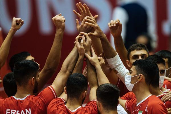 والیبال قهرمانی نوجوانان جهان ، ایران با رجحان مقابل چک صعود کرد
