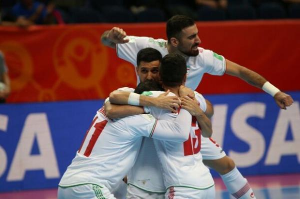 تیم ملی فوتسال ایران جام جهانی را با پیروزی آغاز کرد